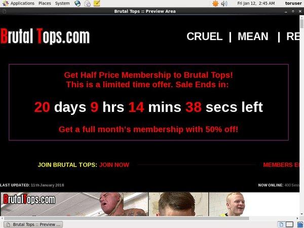 Brutaltops.com Subscribe