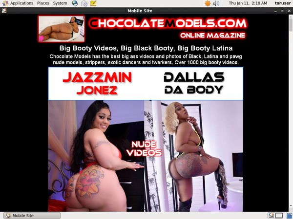 Chocolate Models Discount Page