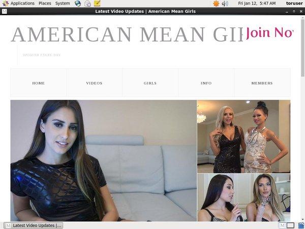 Free New Americanmeangirls.com