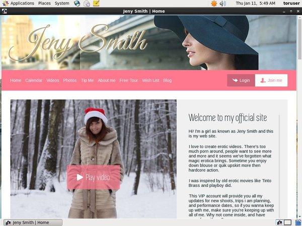 Jenysmith.net New