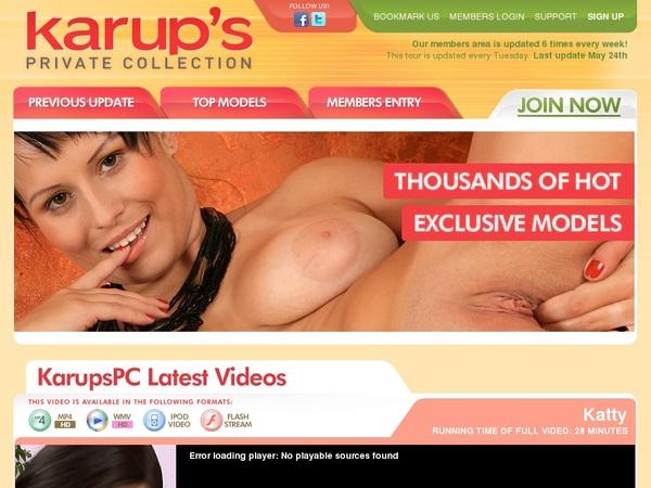 Karupspc.com One Time Discount