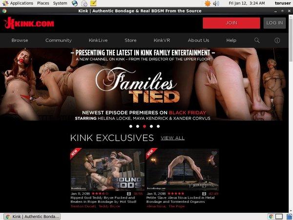 Kink Sign Up Link