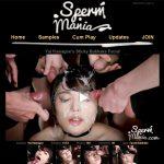 Sperm Mania Signup Form