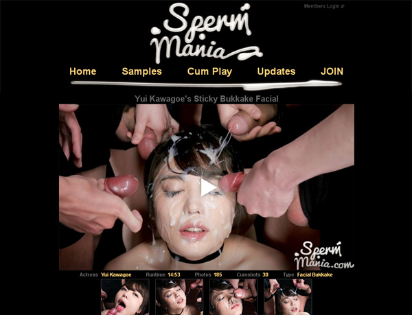 Spermmania.com With Paypal Account