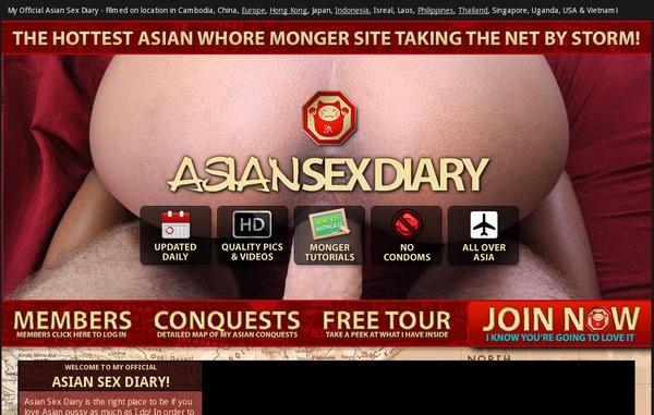 Free Asiansexdiary Login