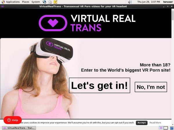 Trial Virtual Real Trans Free