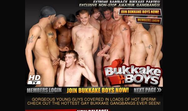 Discount Bukkake Boys Save 50%
