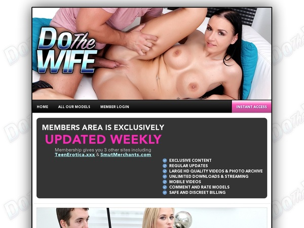 Dothewife.com Make Account