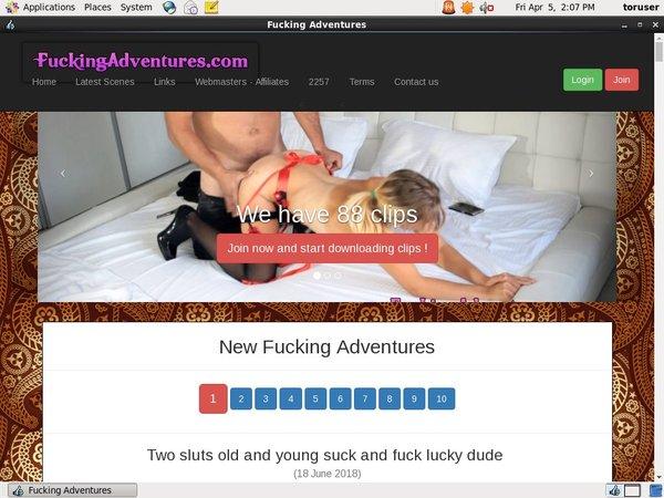 Fuckingadventures Account Info