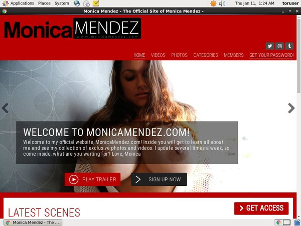 Monicamendez.com Discount Tour