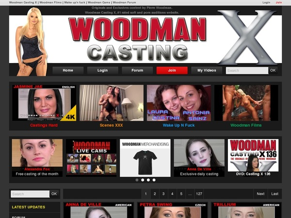 Accounts To Woodman Casting X