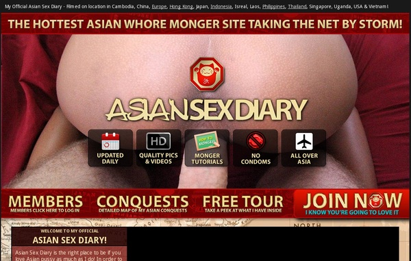 Asiansexdiary Login Codes
