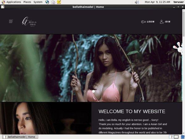 Sign Up Bella Thai Free
