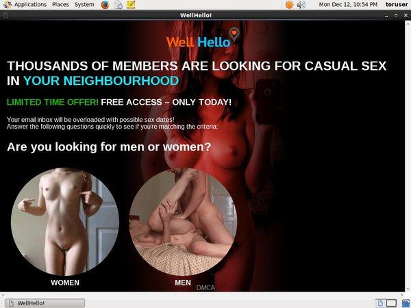 Well Hello Full Website